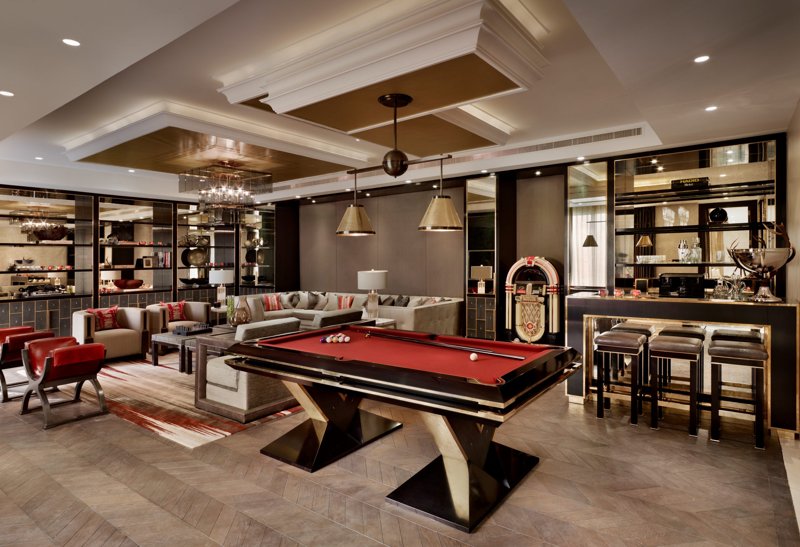 Interior Designed Games Room
